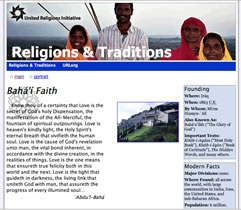 [URI Religions and Traditions website]
